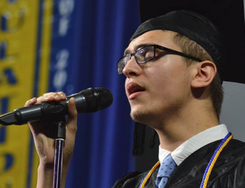 Class of 2010 Alumnus Graduates with Cum Laude Honors, Sings National Anthem at WSU Commencement Ceremony